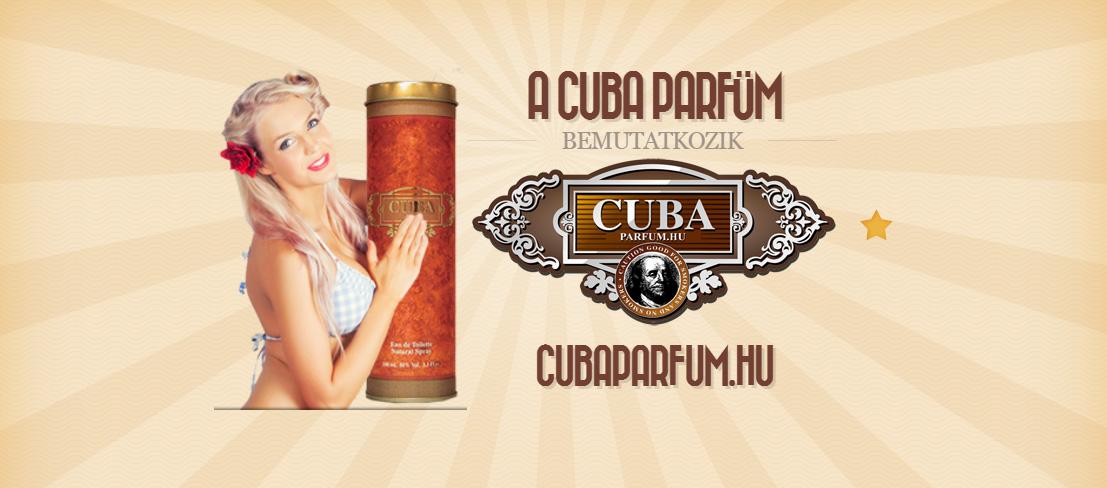 MEGÚJULT A CUBA PARFÜM WEBOLDALA